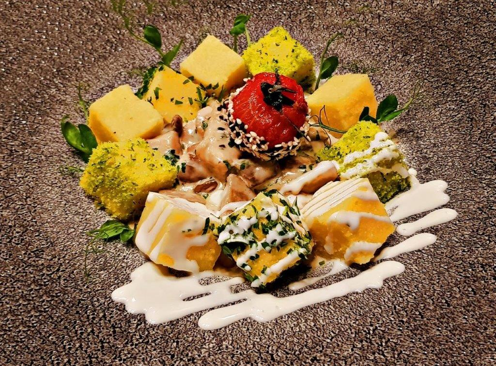 Chicken Bites with Porcini Mashrooms & Sour Cream